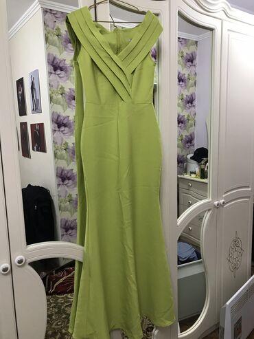 вечерние платья для полных дам в Кыргызстан: Продаю вечернее платье Размер: S