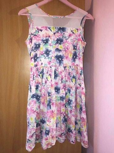 •cvetna haljina •marka: H&M •broj: 164(13-14 god) •cena: 800 din - Subotica