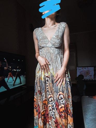 белое летнее платье в Кыргызстан: Летнее платье в пол приятное к телу,новое