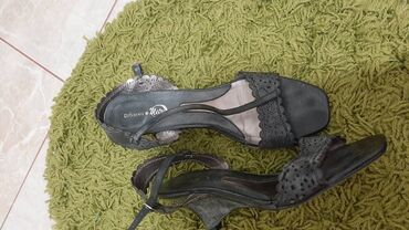 Ženske sandale,br 40,manji kalup,očuvane