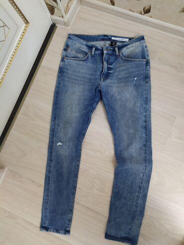 джинсы мужские 32 в Кыргызстан: Джинсы мужские H&M, брали в Москве, состояние новое. Одевали 1