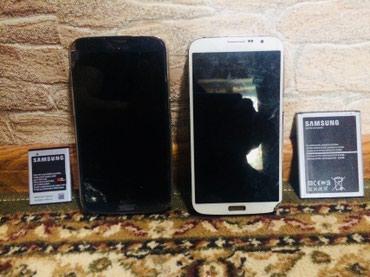 Датчик разбития стекла - Кыргызстан: Донор Самсунг Мега 6'3 2 шт. дисплей целый сенсор разбит плата 2 шт тр