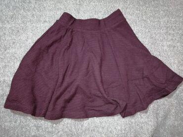 Nova bordo Bershka suknja Veličina XS/S