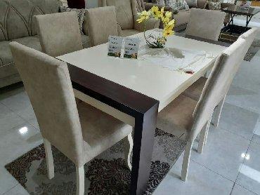 yeni stol stul modelleri в Азербайджан: Stol stul destiYalnız 5-6-7-8 mart . Bütün mebellər 6 ay deyil 12 aya