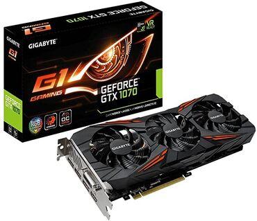 Продаю видеокарты Geforce GTX 1070 от Gigabite 8gb. есть в наличии 10