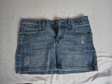 Suknja - Srbija: Mini teksas suknja, veličine S