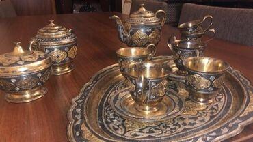 servizi - Azərbaycan: QədiminGümüş çay servizi 2800kq ünvan Nərimanov