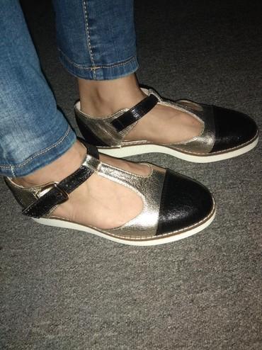 Продаю туфли ( сандали) новые, размер 37-38 кожзам. в Бишкек