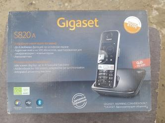 "besprovodnoi telefon gigaset в Азербайджан: Stasionar telefon ""Gigaset S820ARadiotelefon Gigaset S820ABorunun"