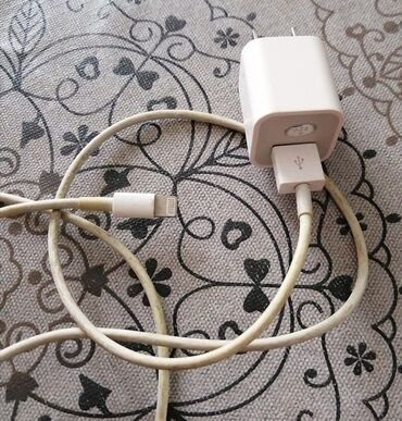 IPhone adaptor başlıq və USB kabel birlikdə 20azn