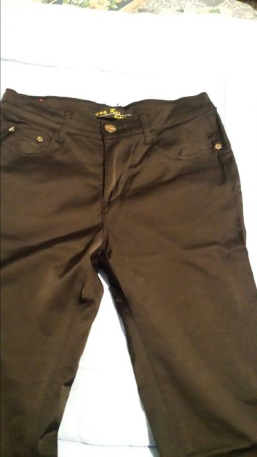 Crne uske pantalone vel 29 - Veliko Gradiste