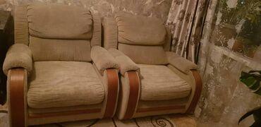 Кресла в Кыргызстан: Продаю диваны (четверки) Двойной диван раскладывается