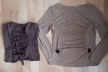 Oba za 300 Jako lepa ocuvana bluzica i korset,odgovaraju br. S. - Jagodina - slika 2