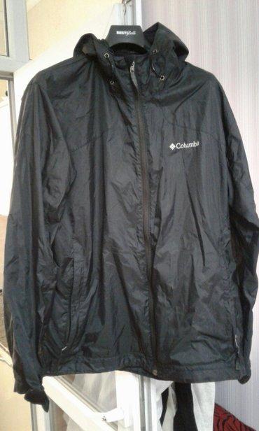 Куртки б/у :черная Columbia (L, 52, 1000 сом), куртка с синей подкладк в Бишкек