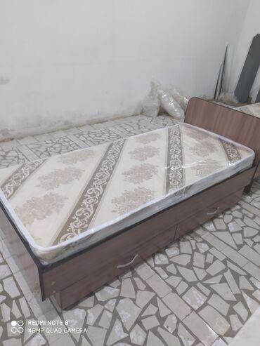 Новые односпальные кровати с выдвижными ящиками для одежды и белья