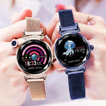 gold часы в Кыргызстан: Женские умные часы Smart Watch H2, ХИТ 2019 года +бесплатная доставка
