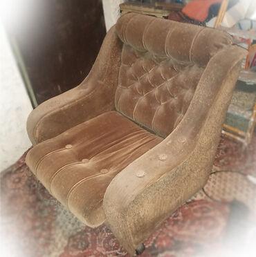 Кресла в Кыргызстан: Продаю 2 кресла на колесиках, рабочие, каркас целый