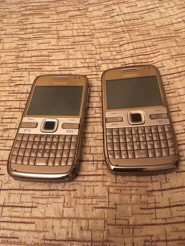 Mobil telefon və aksesuarlar - Azərbaycan: Nokia E72 Gold Made İn Finland, Made İn HungaryOrginal 10ilin