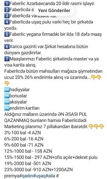 İş axtarıram (rezümelər) - Azərbaycan: Yalan deyil maraqlanın sonra rəy bildir whatsapp da yazın 15 yaşdan