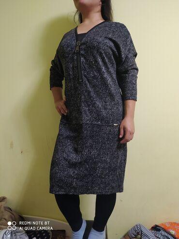 тунику платье в Кыргызстан: Продаю тунику-платье, размер 44 турецкий, очень качественная и сидит