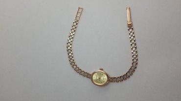 Золотые часы 585проба. Красное золото с добавлением белого. Длина в Бишкек
