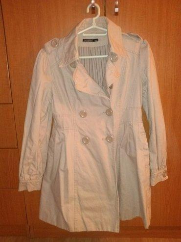 Kaput-cena - Srbija: Ženski kaput, proleće-jesen, vel 38. cena 1000din