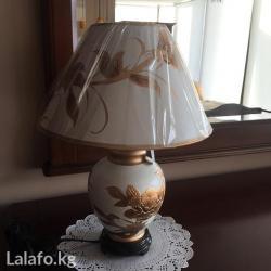 Красивая настольная лампа(прикроватная) в Бишкек