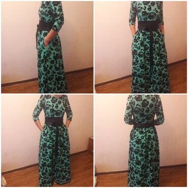 Продаю платье красивый зелёный цвет производство турция качество оче