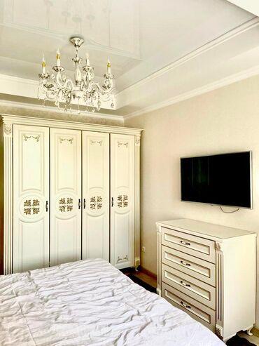 авангард стиль цены на квартиры in Кыргызстан | ПРОДАЖА КВАРТИР: Малосемейка, 2 комнаты, 98 кв. м Бронированные двери, Видеонаблюдение, Дизайнерский ремонт