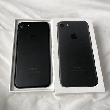 Электроника - Кыргызстан: СРОЧНО! iPhone 7 32GB Black matte в идеальном состоянии. Не рефка!