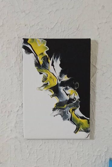 Slika- akril na platnu- canvas (blind ram) Kupujete od autora Dimenzij