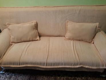 раскладной диван с двумя креслами в Кыргызстан: Продается диван с двумя креслами .цена договорная. г. Жалал-Абад