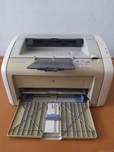 Принтеры в Бишкек: Продаю принтер, НР 1020, печатает чисто