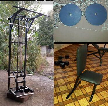 Продаю нижний блок,верхний блок кроссовер с турником и стол+2шт блины