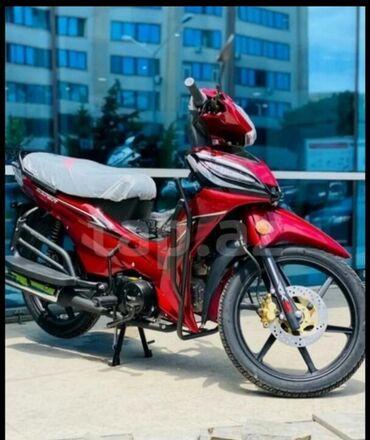 Motosiklet və mopedlər Azərbaycanda: İstehsalçı - Kuba Silindrinin həcmi: 50cc Transmissiya: Yarım
