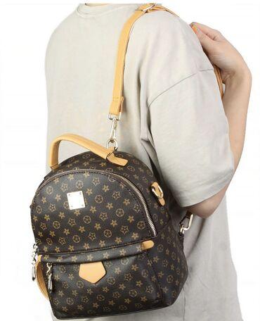 сумка-как в Кыргызстан: Рюкзак Magnolia 999 сом можно как рюкзак, как сумку одевать сумка ши