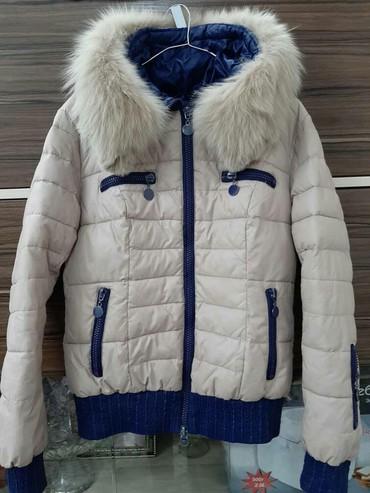 Куртка зимняя для девушек в отличном состоянии