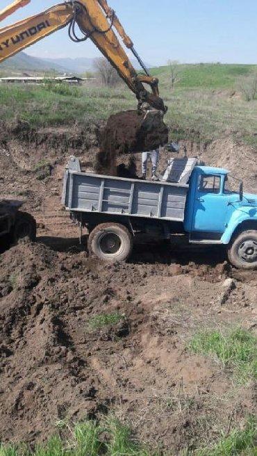 чернозем в Кыргызстан: Чернозем чернозем Перегной удобрение для огорода доставка 8тон 4,5куба