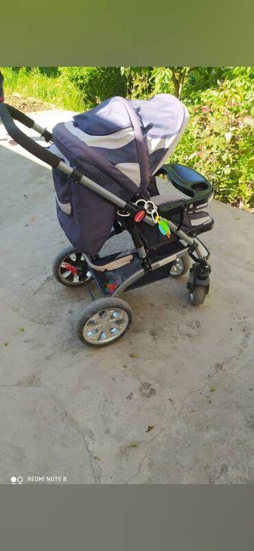 Детский мир - Кок-Ой: Детский коляска  Зимний, летний чехол подарок   Состояние отличное  М