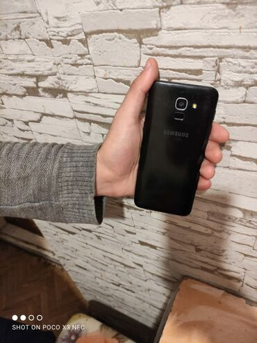 Samsung galaxy r - Азербайджан: Б/у Samsung Galaxy J6 2018 32 ГБ Черный