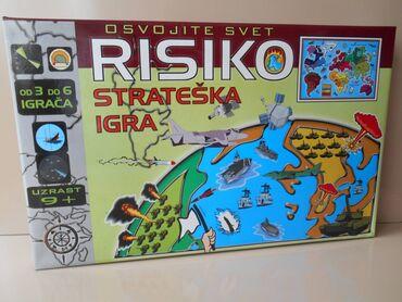 Risiko ( Riziko ) Drustvena Igra Na SrpskomDrustvena igra riziko na