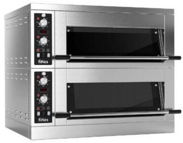 Техника для кухни - Кыргызстан: Печь подовая fines fd68h 1/2-m с пароувлажнением