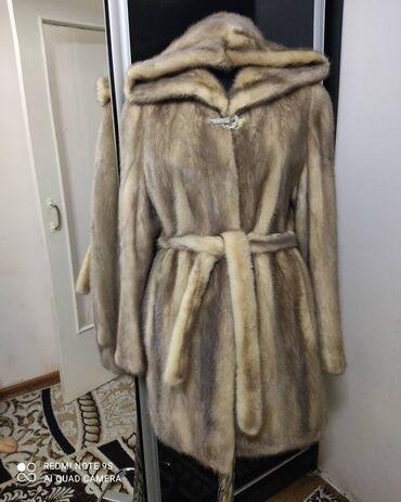 пояс для беременных в Кыргызстан: Натуральная норковая шуба, классический крой,с капюшоном,с поясом,в
