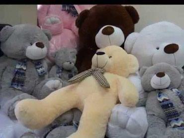 Мишка мишки медведь по оптовой цене!!! от 30см до 2 метров высоты. в Бишкек