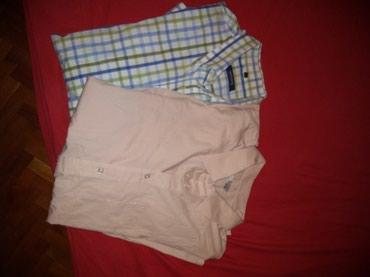 Muške košulje obe za 800 dinara veličina 44 - Vrsac