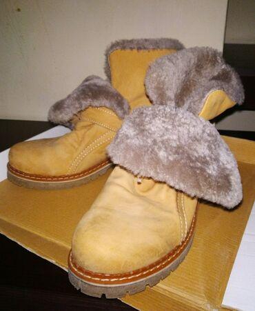 детские шапки на меху в Кыргызстан: Новая зимняя обувь на меху,овчина.Нубук.Размер 38,5-39.Не ношу,решила