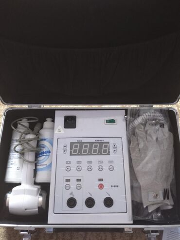 Аппарат косметологический омолаживающий,лимфодренаж,биотоки