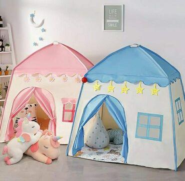 Prekrasan dečiji šator stvara kraljevstvo u bilo kom uglu kuće ili