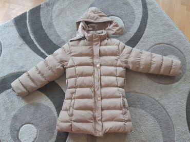 Zimske jakne sa krznom - Srbija: Dečija zimska jakna, veličina 14. Nošena par puta, u savršenom stanju