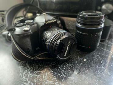 Срочно продаю зеркальную камеру Olympus. Состояние идеал. Полный компл